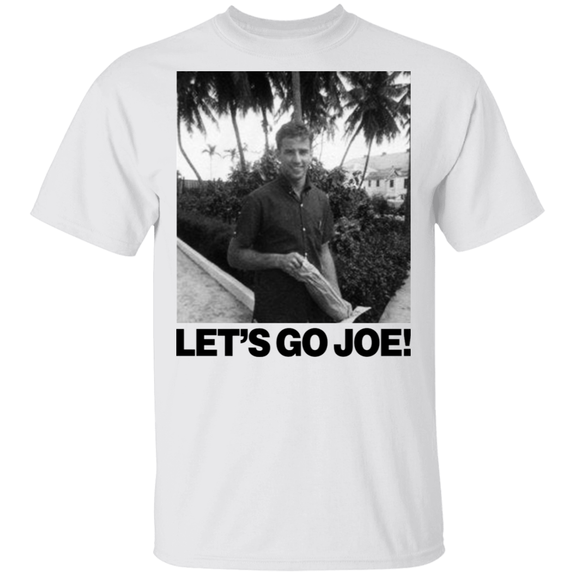 Young Joe Biden Shirt Let's Go Joe T-Shirt Vote For President 2020