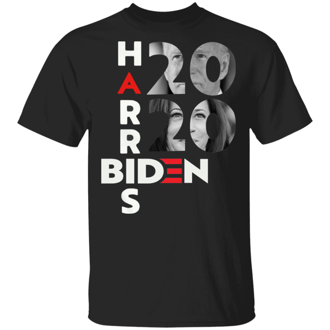 Biden Harris 2020 T-Shirt Vote For Joe Biden Victory U.S President Political Election Campaign