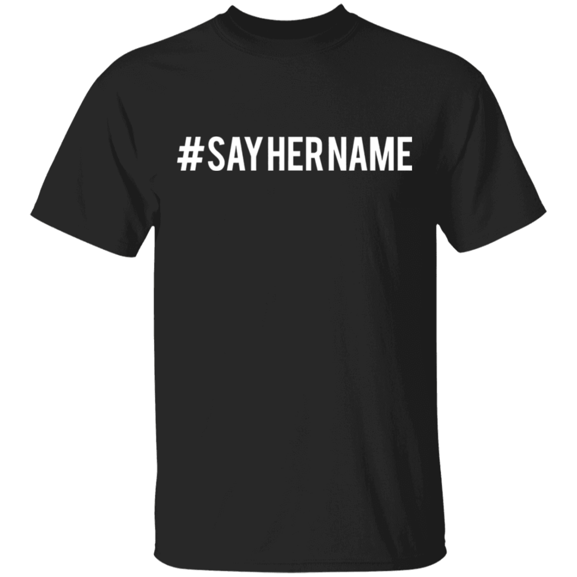 #sayhername Shirt Justice For Breonna Taylor T-Shirt Protest Blm Merch