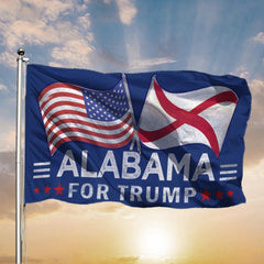 Alabama For Trump 2020 Flag Donald Trump For President Patriotic Flag