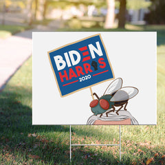 Pence Fly Yard Sign Pretty Fly For A White Guy Yard Sign Vote For Biden Harris 2020