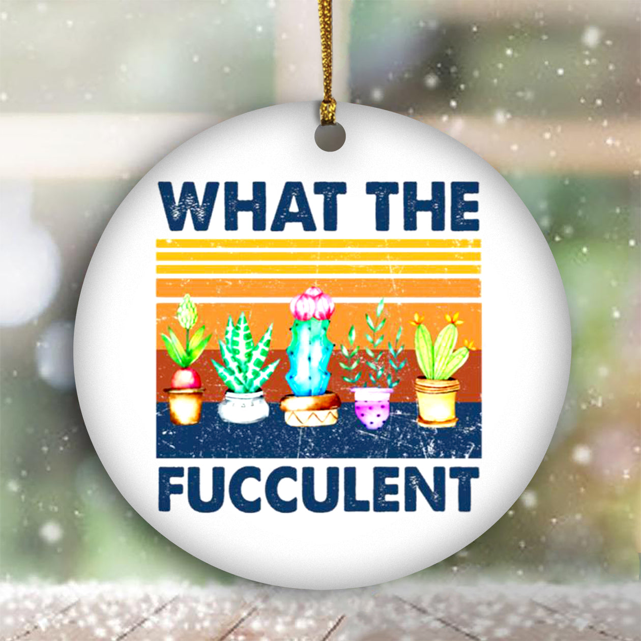 What The Fucculent Cactus Ornament Vintage Christmas Ornament Sets 2020