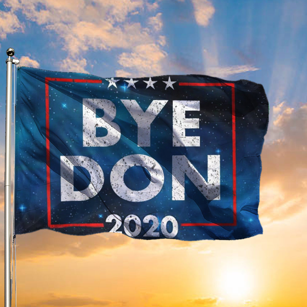Byedon 2020 Flag Anti Trump Political Flag Support Biden Harris For President Wall Home Decor
