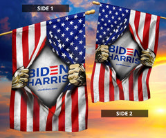 Biden Harris 2020 Flags Inside American Flag For 2020 Presidential Election
