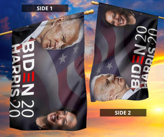 Biden Harris 2020 Flag And American Flag Joe Biden For President