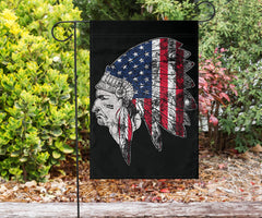 Native American Flag US Native American Indian Flag Pride Gifts For Front Door Decor October