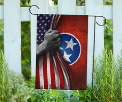Tennessean American Flag Outdoor Decor