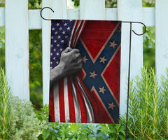 American Civil War Flag Patriotic Ornaments