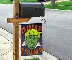 Dump Trump Flag Impeach Trump Flag Protests Against Donald Trump Rally Flag For Biden Voters