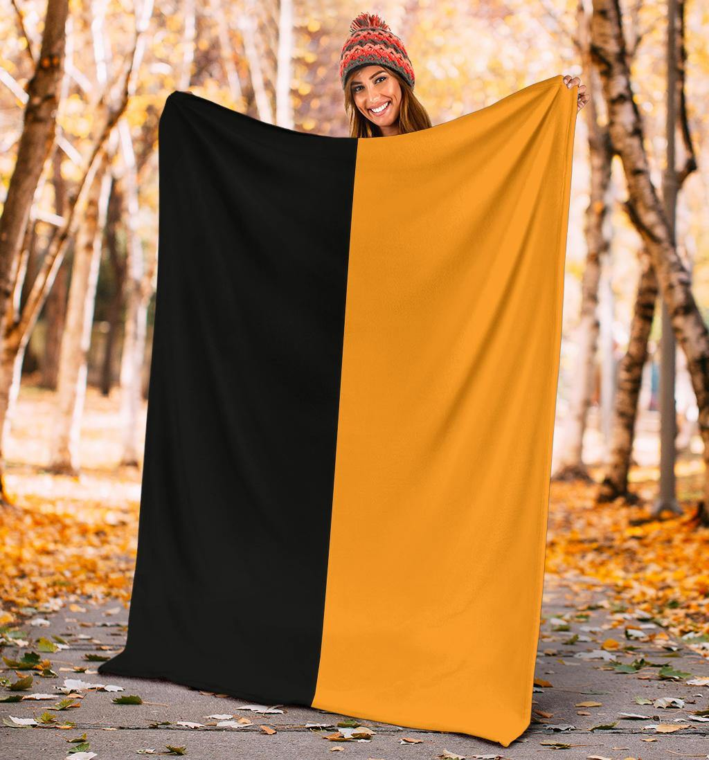 Super Straight Blanket Black And Orange Flag Super Straight Tiktok To My Son Blanket - Pfyshop.com