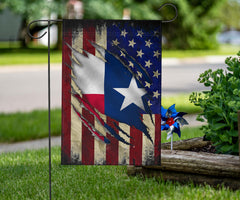 USA Texas Flag Fourth Of July Patriotic Home Decor