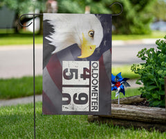 Bald Eagle Oldometer 49 50 American Flag Pride Patriotic Decor For 2020 Presidential Election