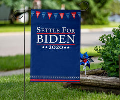 Settle For Biden Flag Voting Flag Settle For Joe Political Campaign Settle For Biden Merch