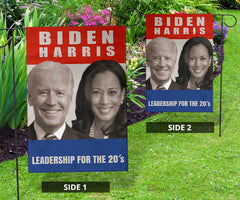Biden Harris 2020 Leadership For The 2020's Flag Support For Joe Biden Presidental Campaign