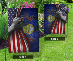 American And Pennsylvania Flag Outdoor Decor
