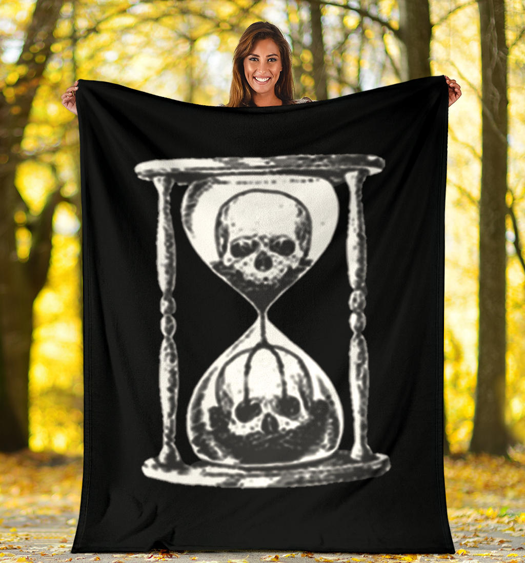 Unus Annus The End Blanket Unus Annus Memento Mori Merch Super Soft Blanket