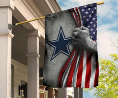 Dallas Cowboys NFL Americana Flag Gift For Football Fan