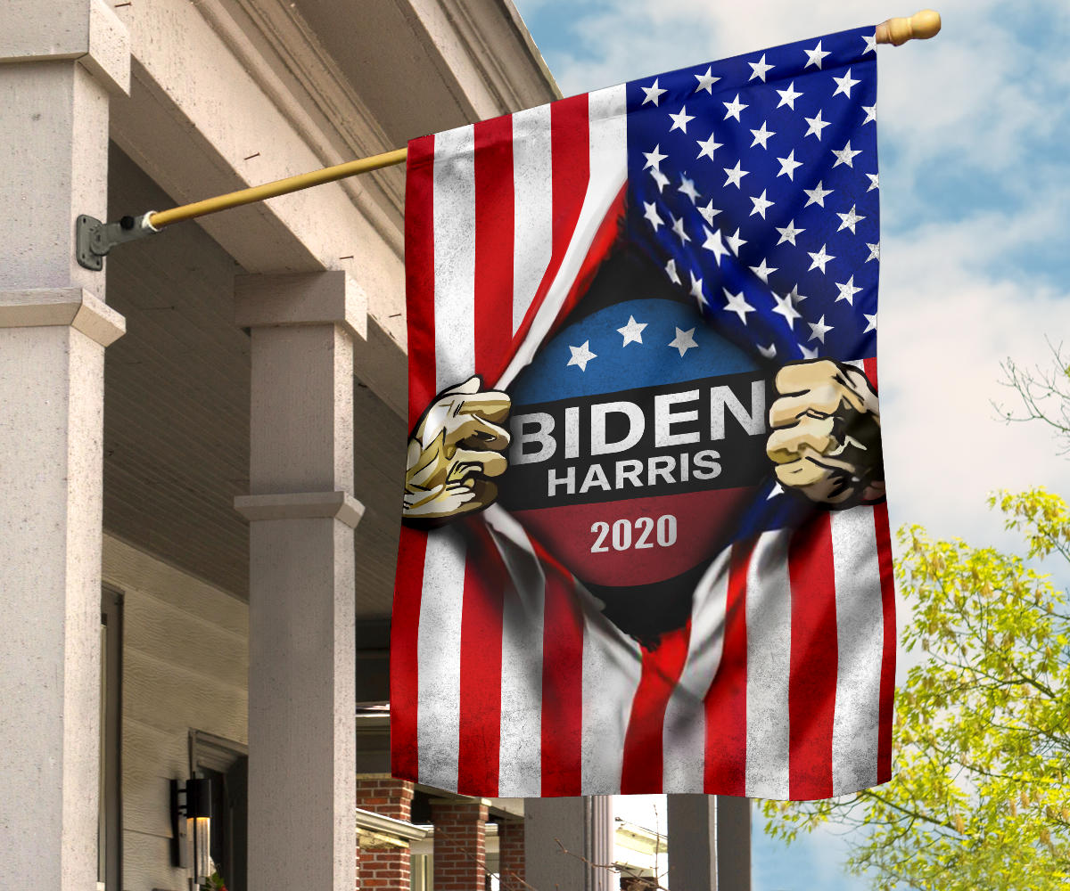 Biden Harris 2020 Flags Inside American Flag Joe Biden For President 2020