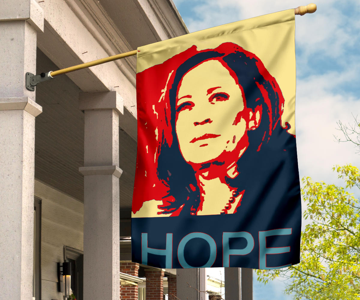 Kamala Harris Hope Flag Nasty Woman Voting Political Campaign Biden Harris Merchandise For Sale