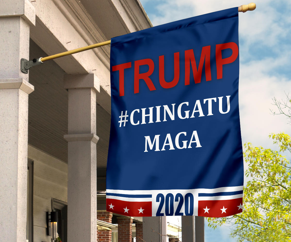 Trump Chingatumaga Flag Dump Trump 2020 Flag Anti Trump For Presidential Election Garden Decor