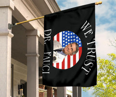 In Fauci We Trust Flag Patriotic Dr. Fauci American Flag For Against Trump Dr Fauci Merch
