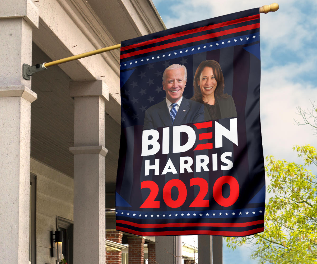 Biden Harris 2020 American Impressed Flag Vote Nasty Woman Joe Biden Merch Indoor Decorative