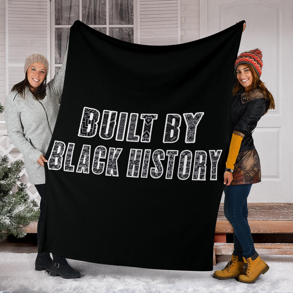 Built By Black History NBA Blanket African Patterns Black History Store