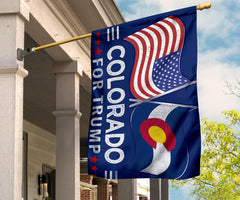 Colorado American For Trump Flags Support for President