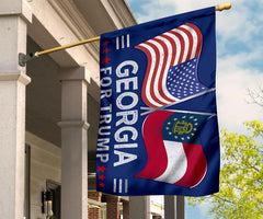 Trump Georgia Flag Election Gifts Donald Trump For President 2020