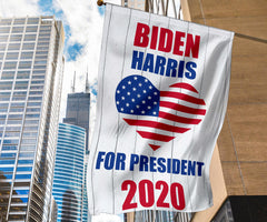 Biden Harris For President 2020 Flag Patriotic On The Pools Biden Campaign Wall Outdoor Flag