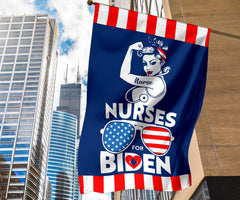Nurses For Biden Flag Patriotic American Sunglasses Biden Flag Biden Victory Fund Merch Joe 2020