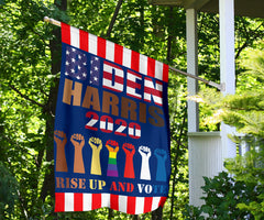 Biden Harris 2020 Rise Up And Vote Flag BLM Biden Harris Official Merchandise For Election