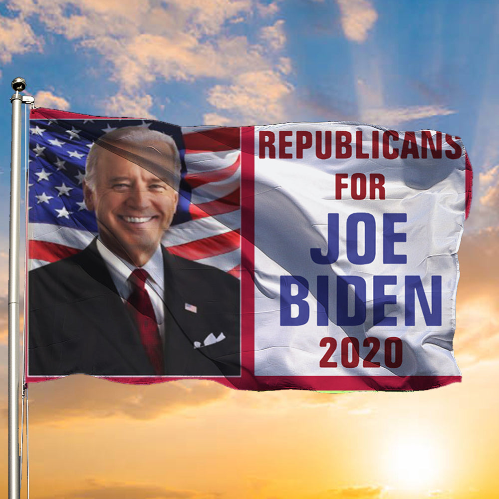 Republicans For Joe Biden 2020 Flag Support Biden For U.S President Campaign Political Flag