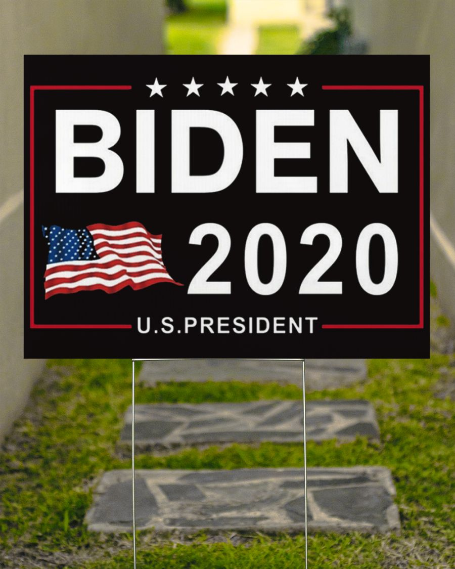 Biden 2020 U.S President American Yard Sign Biden Black Voters Joe Biden