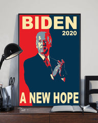 Biden 2020 A New Hope Poster For U.S Presidential 2020 Election Vote Biden Poster For Wall Decor