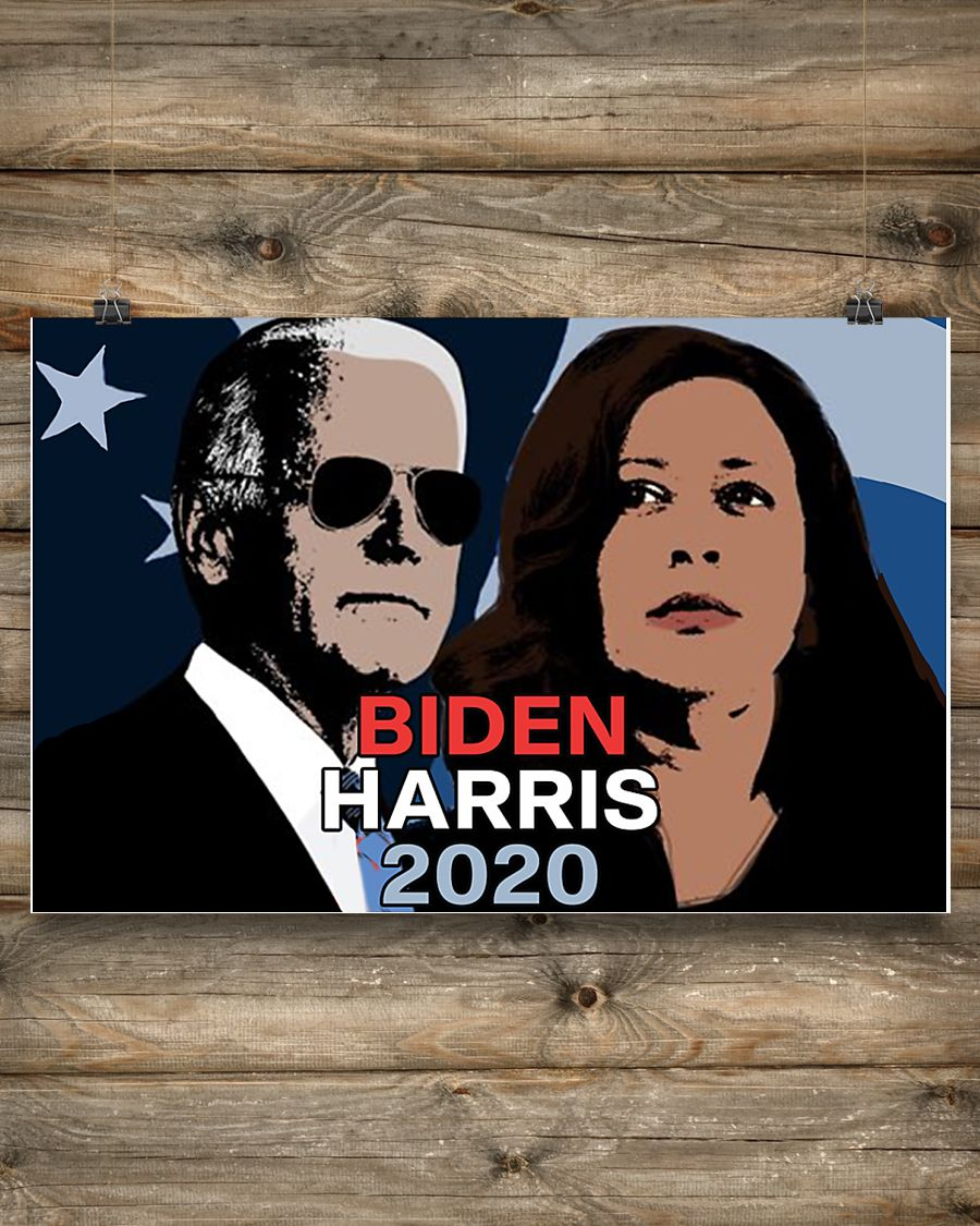 Biden Harris 2020 Poster Dream Team For Presidential Election Perfect Wall Art Indoor Ornament