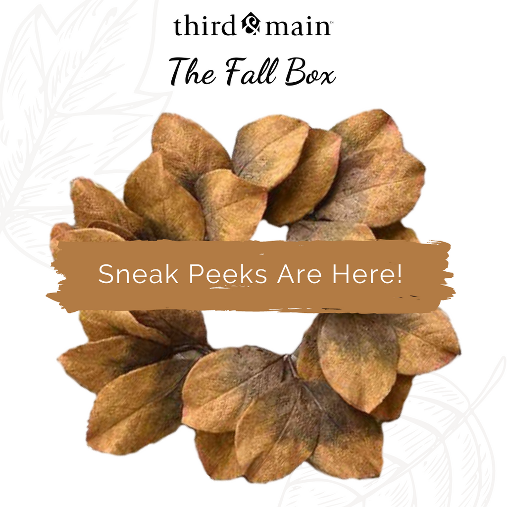 The Fall Home Decor Box Sneak Peeks Are Here!