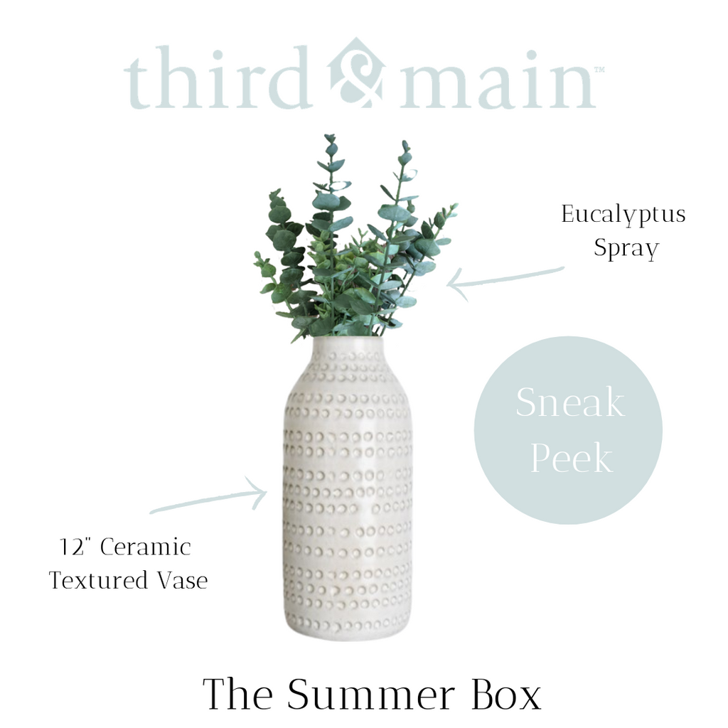 Peek Inside The Summer Home Decor Box