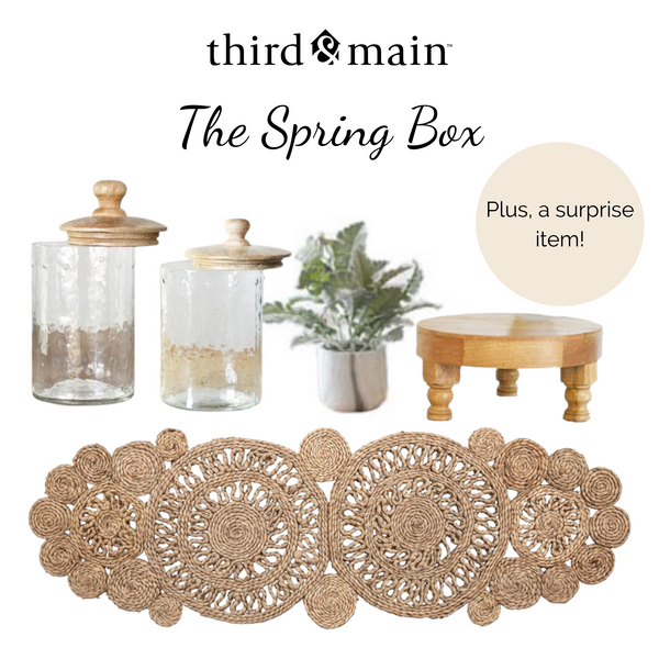 The Spring Box Sneak Peeks Are Here!