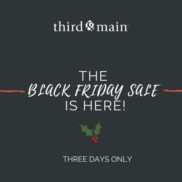 Shop The Black Friday Sale: 3 Days Only! While Supplies Last!