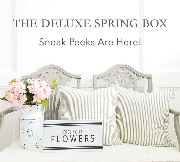 The Deluxe Spring Box Sneak Peek Is Here!
