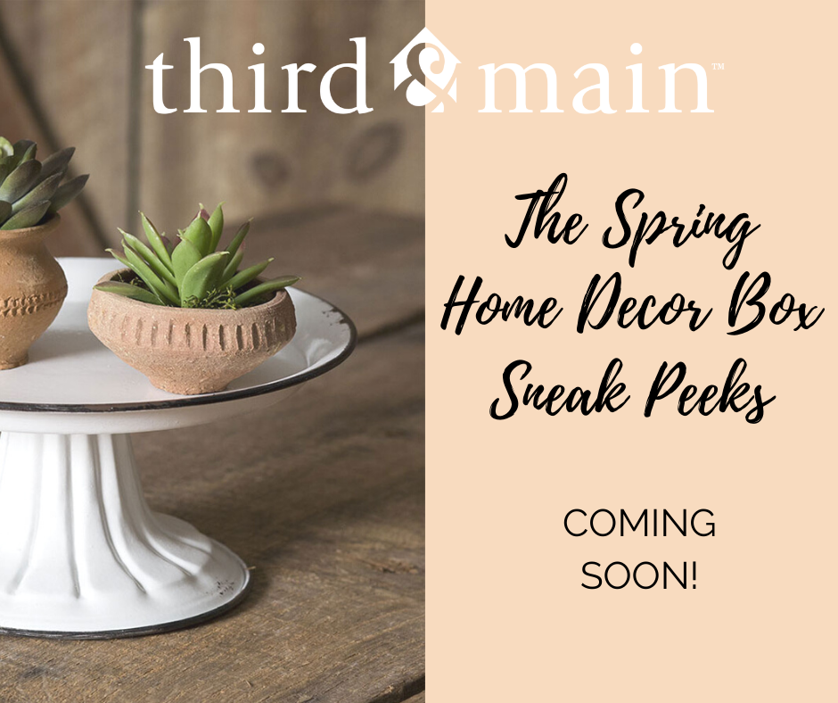 Spring Box Sneak Peeks Coming Soon!