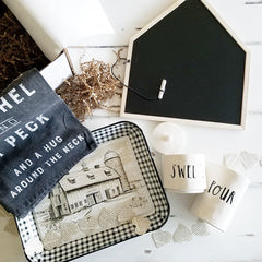 Third & Main Home Decor Subscription February Box (so popular another decor box purchased it and used it in their ads!)