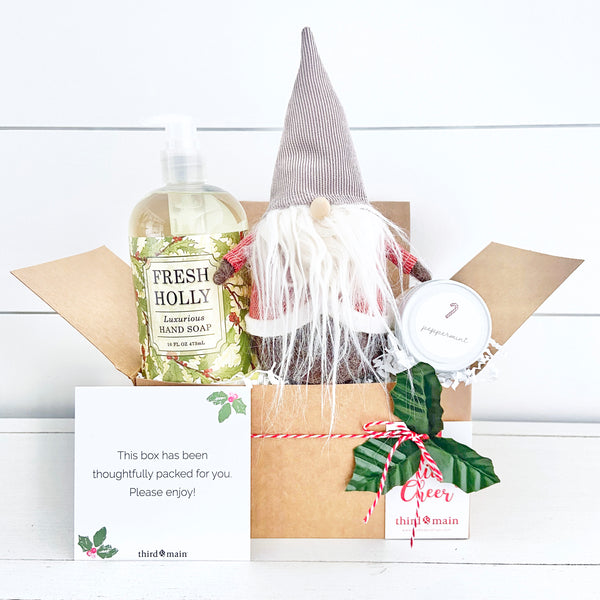 Holly Jolly Gnome Care Bundle