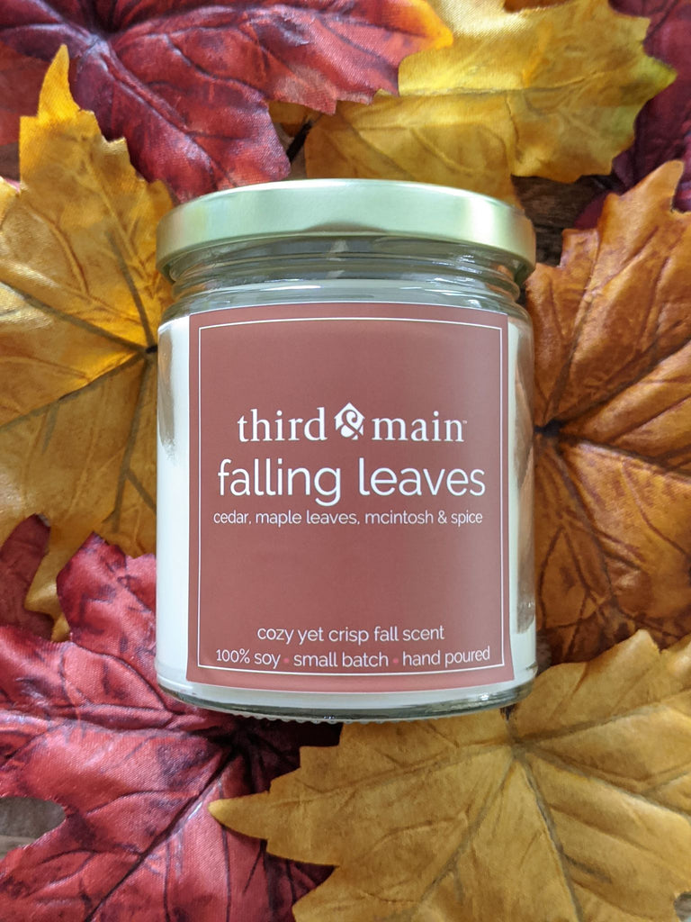 Falling Leaves 8 oz. Jar Candle - PRE ORDER