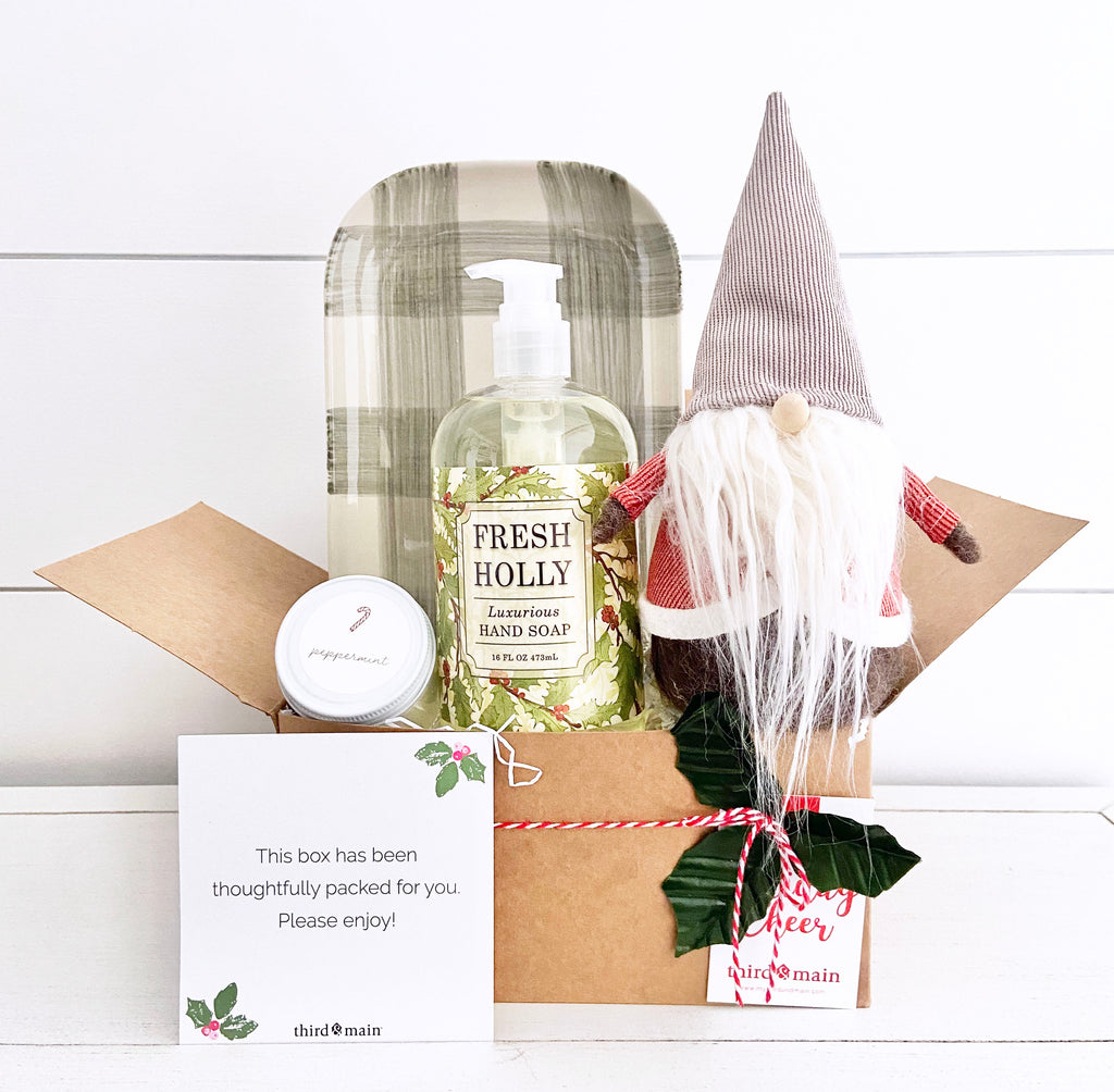 Holly Jolly Gnome Care Bundle Deluxe