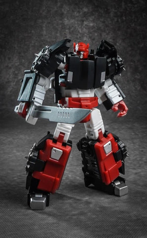 IronFactory  IF EX-26H EX26 Racing Bros - Heavy Metal (G2 Sidewipe) 10cm