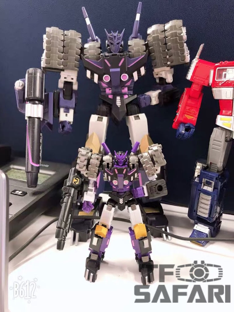 IN STOCK Transformers IronFactory IF EX-31 DUBHE of The D.E.C Tarn Action Figure