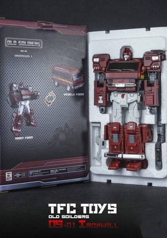 TFC Toys Old Soldiers OS-01 OS01 Ironwill (Ironhide) 20cm