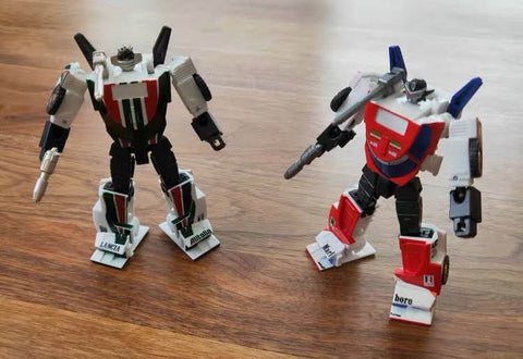 Toyworld TW-GS02 TWGS02 Whiskey Jack ( Pocket-size Wheeljack ) 8cm